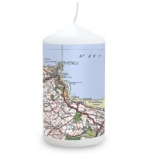 1919 - 1926 Popular Edition Map Candle